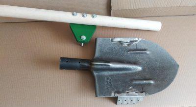 чудо устройства - одноштыковая лопата